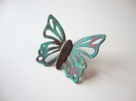 Copper Butterfly Pin
