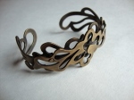 Ornate Layered Brass Bracelet