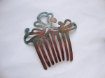 Antique Style Copper Hair Comb