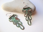 Decorative Copper Earrings