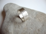 Rippled Sterling SIlver Ring