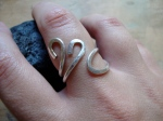 Silver Looped Ring