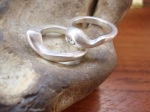 Casted Sterling Silver Ring Set